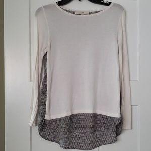 LOFT XSP sweater blouse